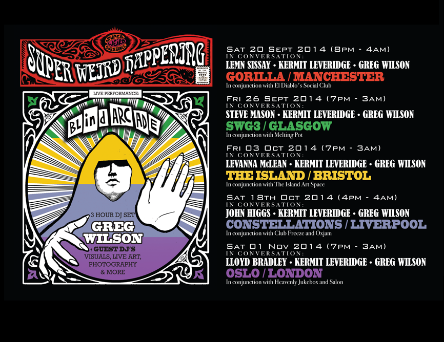 Super Weird Happenings 2014 [Warp]