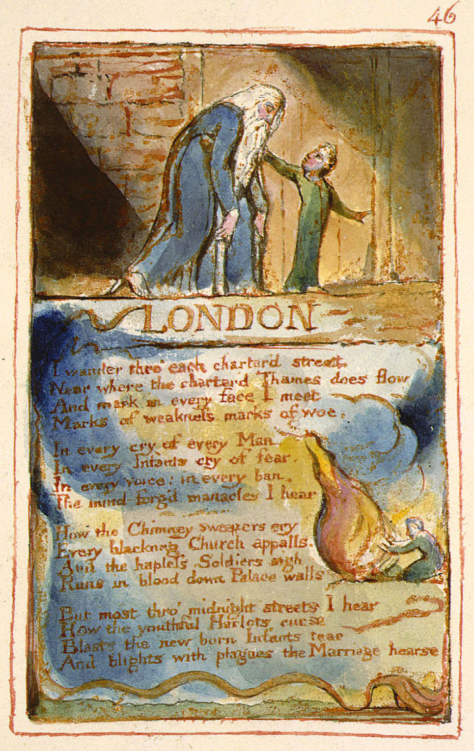 William Blake 'London'