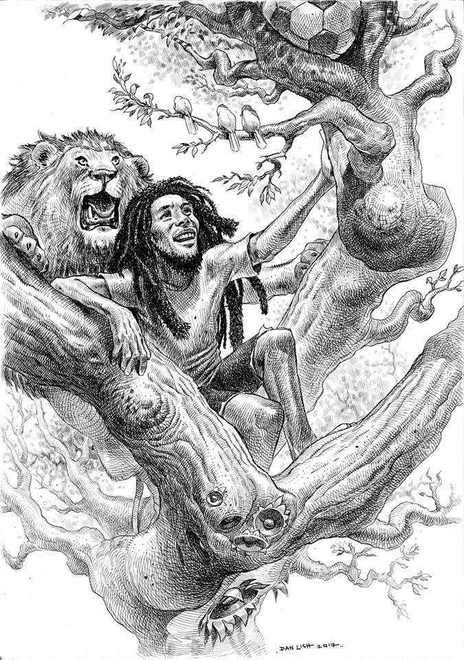 Dan Lish - Bob Marley