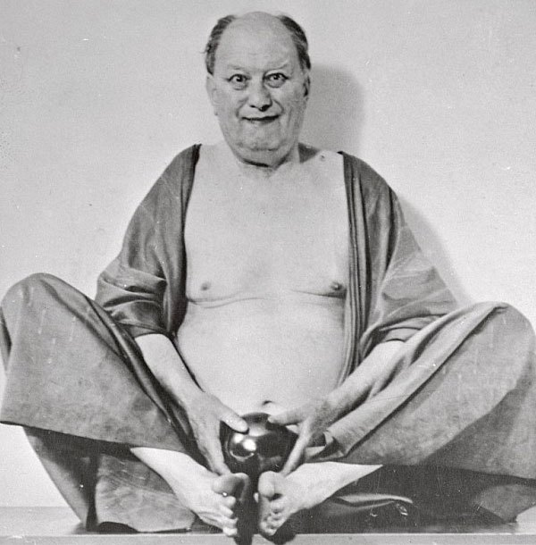 Aleister Crowley as Fo Hi