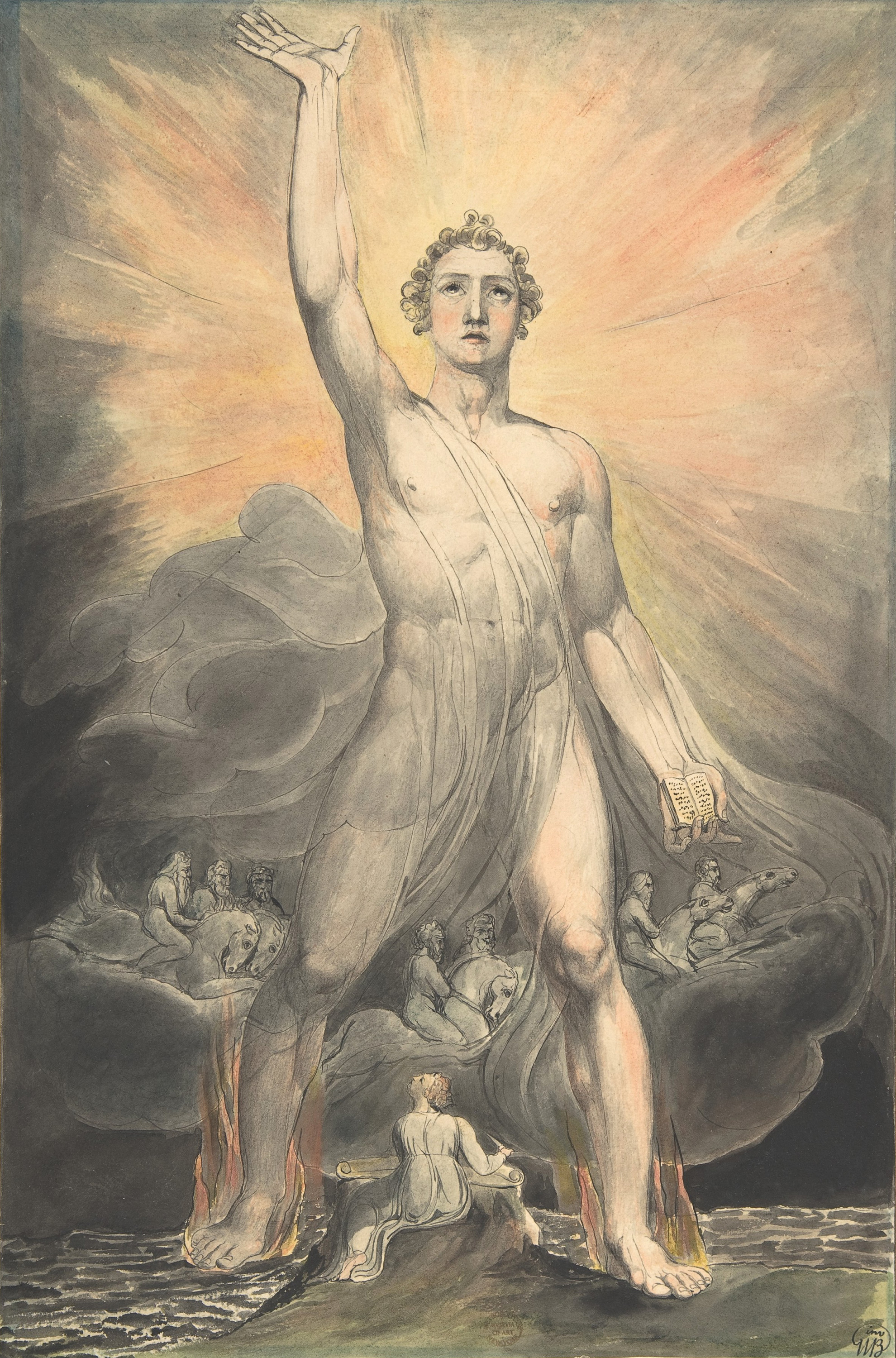 'Angel of the Revelation' 1805 - William Blake