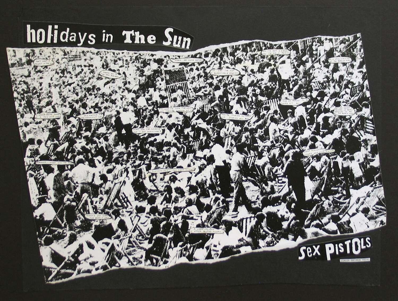 Jamie Reid 'Holidays In The Sun'